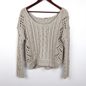Free People | Chunky Knit Sweater Size XS